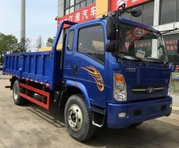 中国重汽豪曼平板自卸车